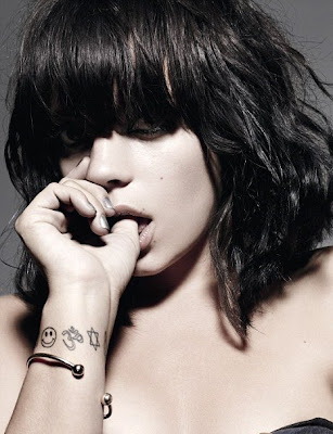 Lily Allen - Elle Magazine October 2009 Pictures