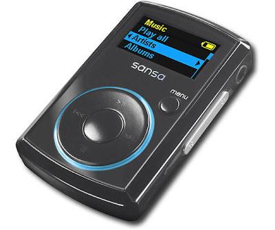 Sandisk Sansa Clip 8GB MP3 Player