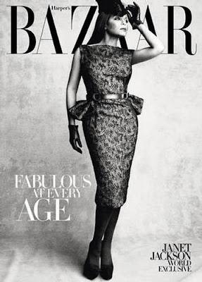 Janet Jackson Harper's Bazaar Cover October 2009 photo