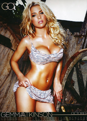 Gemma Atkinson 2010 Calendar hot pic