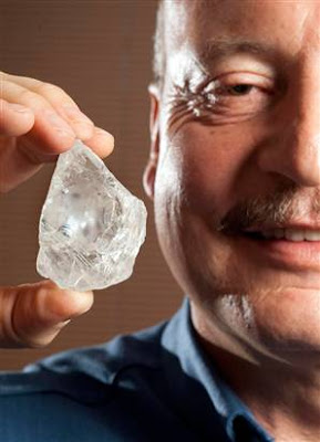 500-Carat Diamond Found at South African