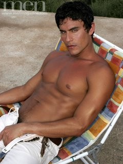 Sexy Male Body Hunk Rafael Carreras