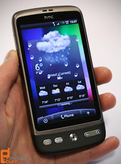 htc desire new software