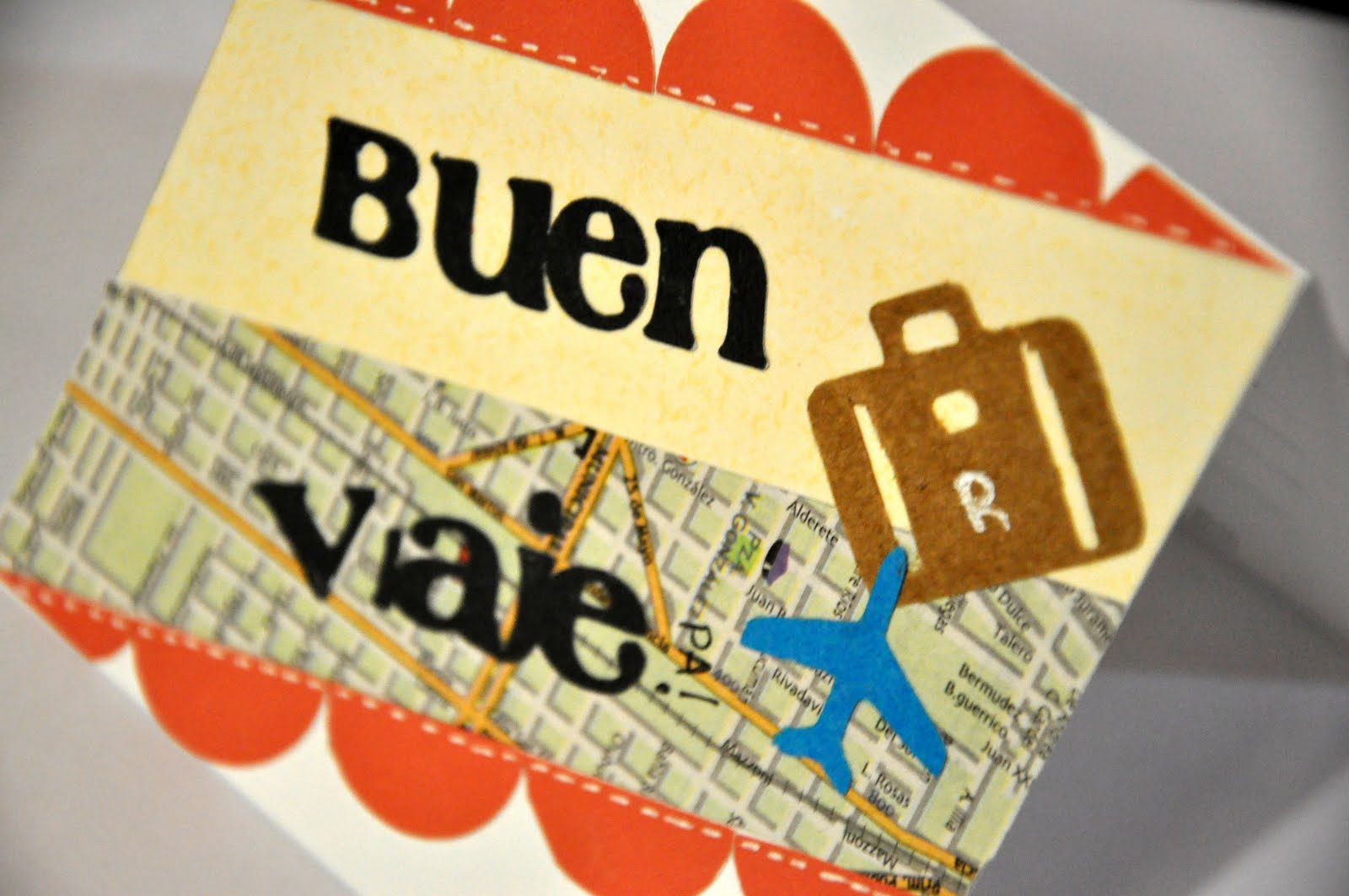 Buen Viaje - Happy card making day!