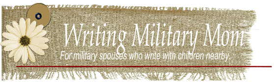 Writing Military Mom
