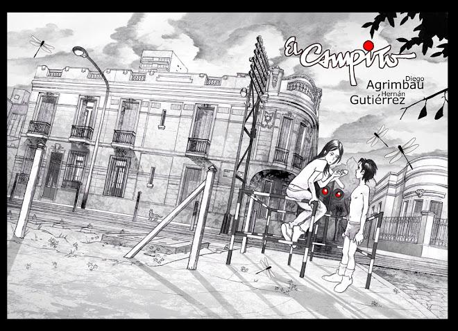 """ILUSTRACIÓN DE TAPA """"EL CAMPITO"""" (AGRIMBAU / GUTIÉRREZ)"""