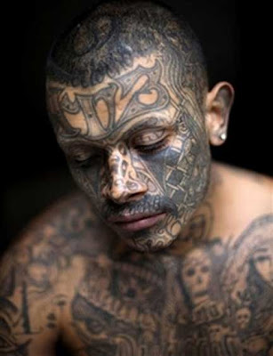 latin kings tattoo. Las Maras are considered to be more violent than the