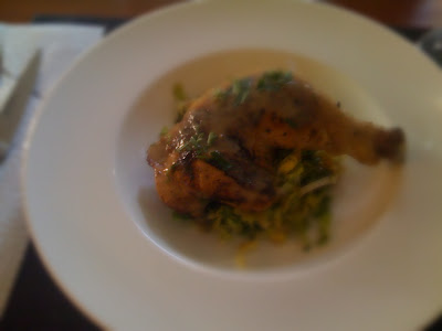 The Good Life: Chicken Legs Braised in Pinot Grigio Mojo