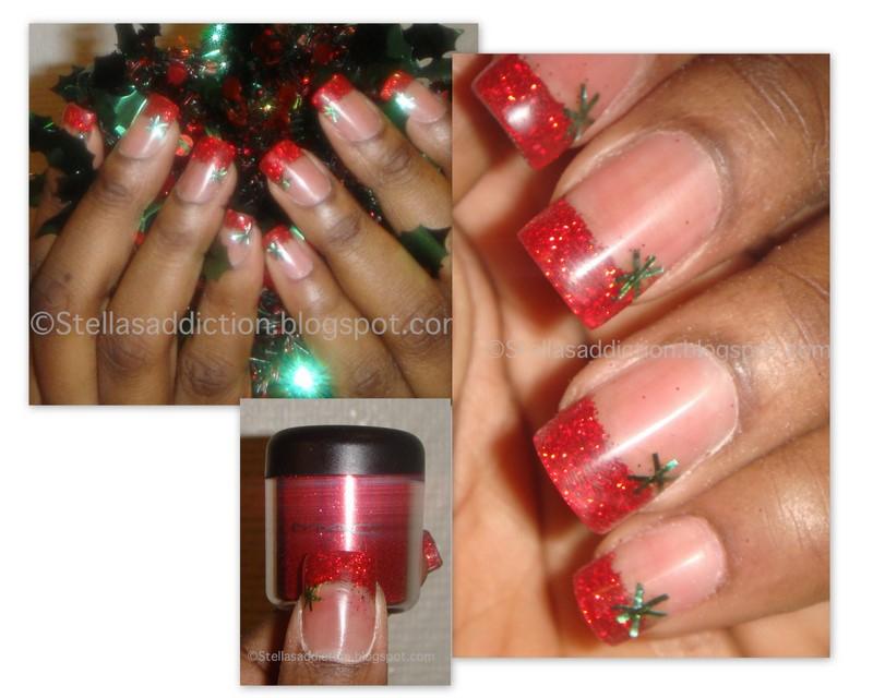 Notd Santa Claws Christmas Themed Nail Art Stellas Addiction