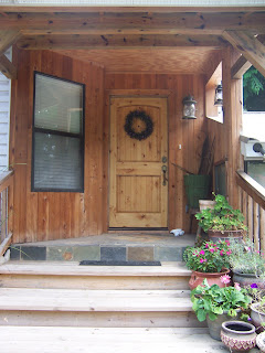 mcqueeney finish front door