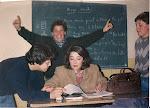 Viendo esta foto me alegro de saber que alguien se divertía en mi clase