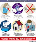 """Colabora cuidandote de la gripe """"A"""" y la gripe estacional"""