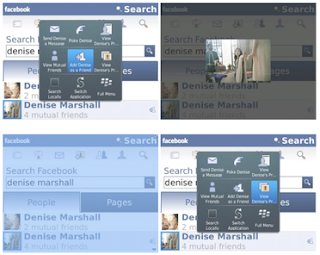 Facebook for BlackBerry 1.9 Beta img