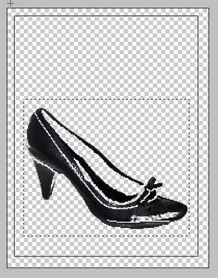 Digital ausgetretener Schuh - seen by yk