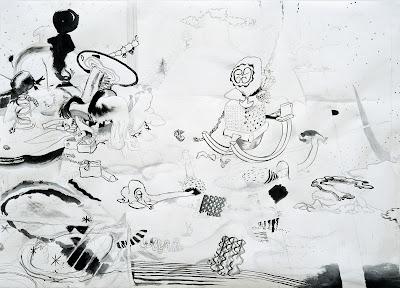 Kay Treysse,Lord Knack, Japantusche und Bleistift auf Papier