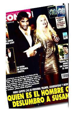 Ver tapa de la revista pronto el novio de susana g menez for Revistas argentinas de farandula