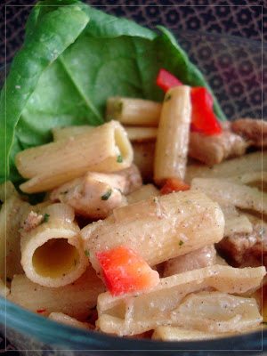 Going Global with a pasta salad