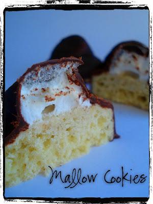 Daring Bakers Challenge...Marshmallow Cookies