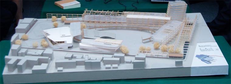 藝術高中校園整體規劃其他未得標之建築師參與投標之校園建築外觀俯視圖~4