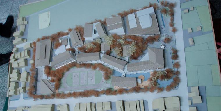 藝術高中校園整體規劃其他未得標之建築師參與投標之校園建築外觀俯視圖~5