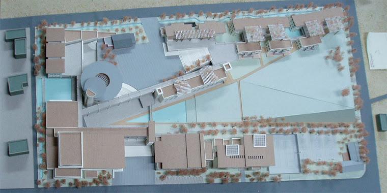 藝術高中校園整體規劃其他未得標之建築師參與投標之校園建築外觀俯視圖~8
