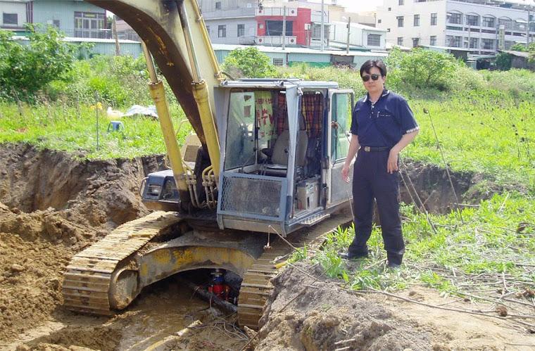 藝術高中校園整體規劃第一個工程~地質鑽探