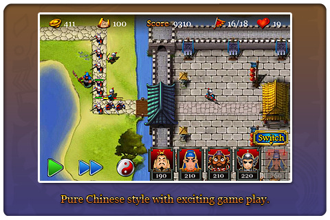 Three Kingdoms TD - Legend of Shu | IPHONE GAMES FOR YOU