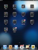 iPad OS 4.2 folders