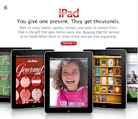 iPad for the holidays gift