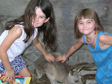 Claire, Ava & Kangaroo