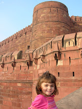 Ava at the Red Fort