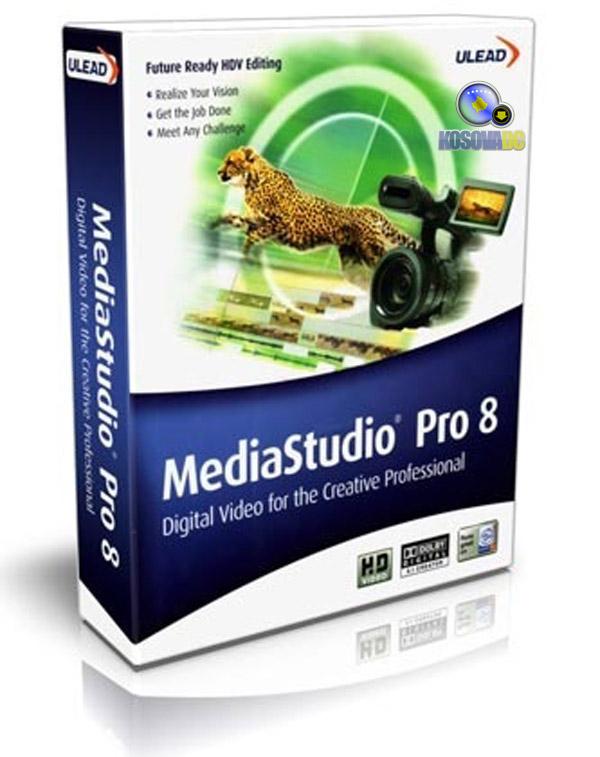 Русификатор + видео уроки по работе с программой) Ulead Media Studio Pro 8