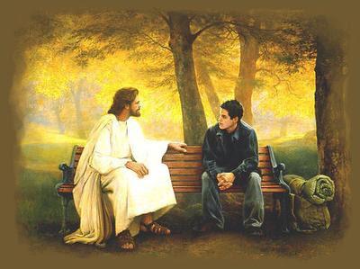 Jesus viendo el mundo