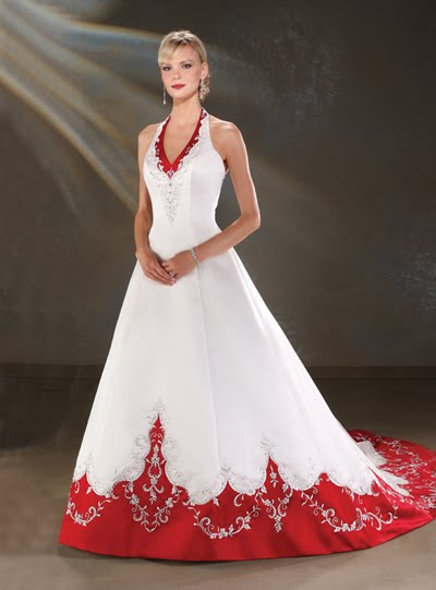 Wedding Gowns  Mature Brides on Perfectly Planned By Pam  Red The Hottest Color For 2011 Weddings