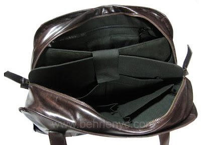 custom made handbag-interior