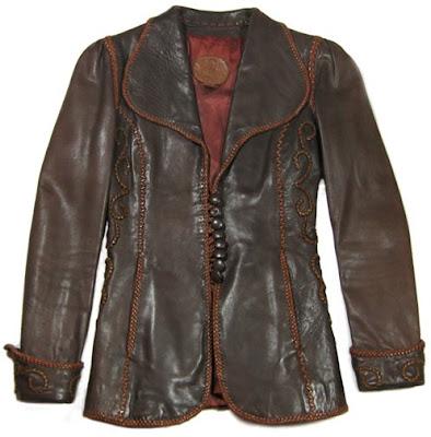 vintage north beach leather jacket