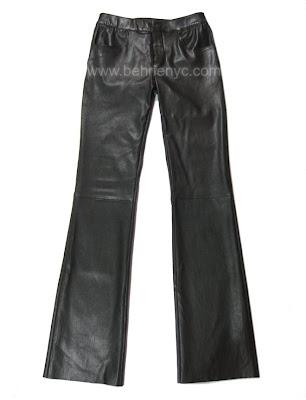 Stretch-lambskin-jeans