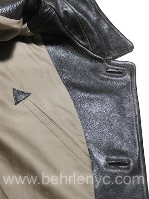Custom Leather Jacket-Detail