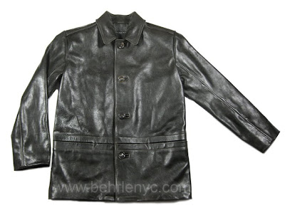 Custom Leather Jacket-Front