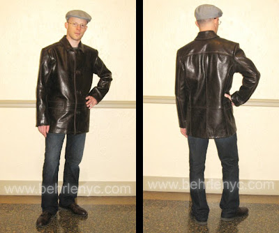 Custom Made Mens Leather Jacket