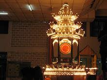 The main chariot for Lord Buddha procession