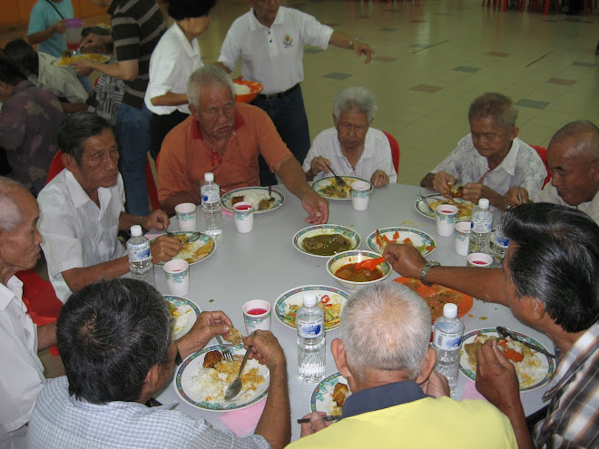 Old Folks luncheon at Wisma SKE