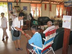 Visit to old folks home