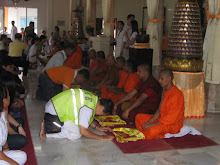 Offerings to the monks