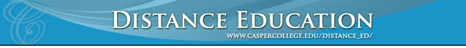 Casper College Distance Education Newsletter