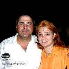 Cu Puiu Pascu la Festivalul de jazz Garana