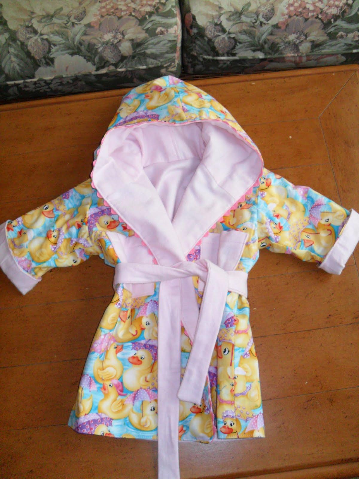 Très Bon Babble: Baby Bathrobe
