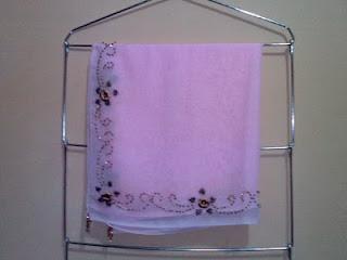 jilbab pink kerudung paris pink