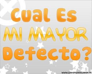 Mi+mayor+defecto Cual es mi Mayor Defecto | Notas Graficas para facebook