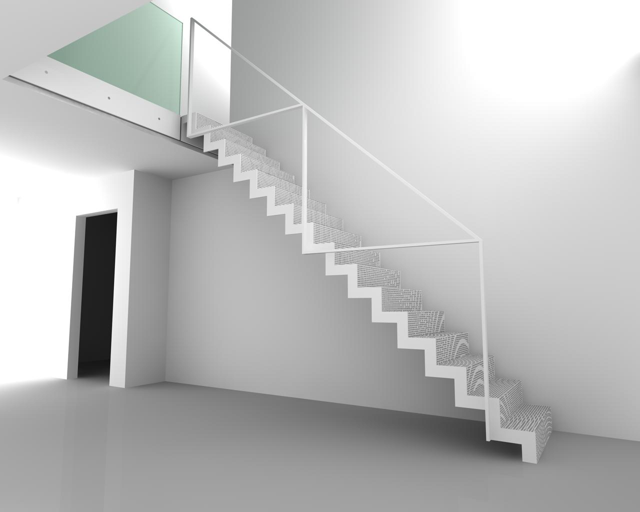 Ons toekomstige huis trap of niet